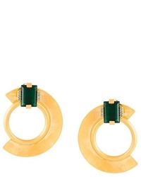Marni Half Circle Clip On Earring