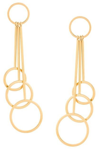 Marni Rod And Hoop Drop Earrings