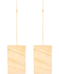 MARQUES ALMEIDA Marquesalmeida Wavy Plate Earrings