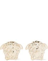 Versace Medusa Gold Tone Earrings