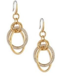 Michael Kors Michl Kors Brilliance Crystal Drop Earringsgoldtone