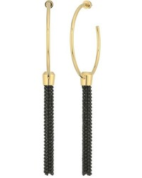 Michael Kors Michl Kors Fashion Hoop Earrings With Tassels Earring