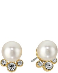 Michael Kors Michl Kors Modern Classic Pearl And Crystal Stud Earrings Earring