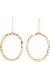Ileana Makri Mini Again 18 Karat Gold Diamond Earrings One Size