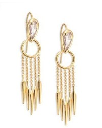 Alexis Bittar Miss Havisham Crystal Fringe Earrings