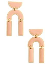 Madewell Modernism Half Drop Earrings