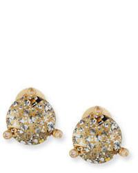 Kate Spade New York 14k Gold Plated Crystal Stud Earrings