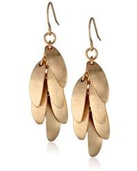 Kenneth Cole New York Color Splash Geometric Bead Linear Earrings