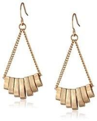 Kenneth Cole New York Color Splash Stick Chandelier Earrings