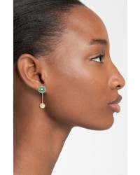 Kate Spade New York Flower Hanger Drop Earrings