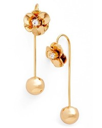 Kate Spade New York Flower Hanger Drop Earrings