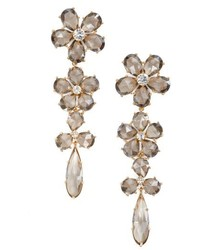 Kate Spade New York In Full Bloom Linear Drop Earrings