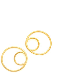 Kate Spade New York Shine On Twisted Hoop Earrings