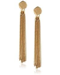 Kenneth Cole New York Tropics Geometric Bead Multi Chain Linear Drop Earrings