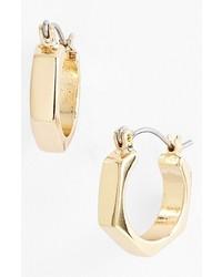 Nordstrom Geometric Hoop Earrings Gold