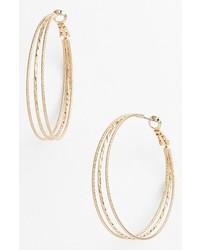 Nordstrom Split Hoop Earrings Gold