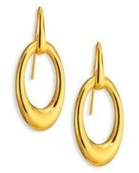 Maiyet Oval Drop Earrings