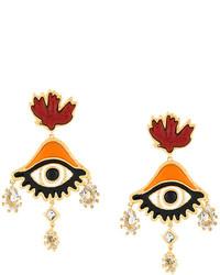 Dsquared2 Oversized Eye Earrings