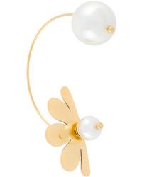 Simone Rocha Pearl Flower Earrings
