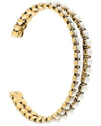 Marc Jacobs Pearl Row Cuff