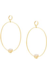 Iosselliani Puro Reversed Hoop Earrings