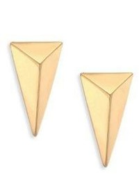 Alexis Bittar Pyramid Stud Earrings
