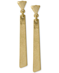 Kate Spade Robert Lee Morris Soho Gold Tone Geometric Linear Earrings Web Id 1983353