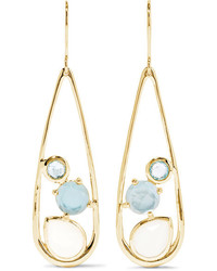 Ippolita Rock Candy 18 Karat Gold Multi Stone Earrings