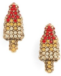 Marc Jacobs Rocket Lolli Stud Earrings