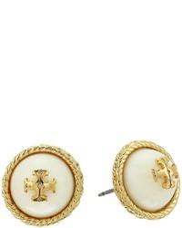 Tory Burch Rope Pearl Stud Earrings Earring