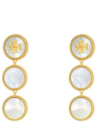 Tory Burch Semi Precious Drop Earrings Earring