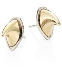 Givenchy Shark Tooth Stud Earrings