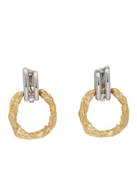 Chloé Silver And Gold Anouck Earrings
