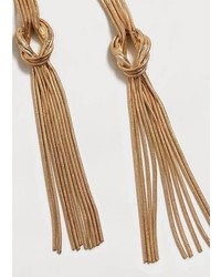 Violeta BY MANGO Slim Chain Earring