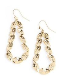St. John Collection Swarovski Crystal Shimmer Leaf Earrings