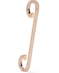 Repossi Staple 18 Karat Rose Gold Diamond Ear Cuff