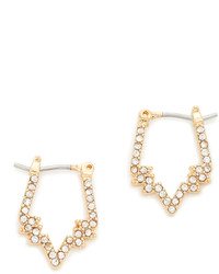 Rebecca Minkoff Stargazing Mini Hoop Earrings