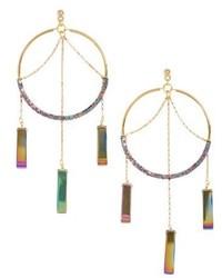 Vanessa Mooney The Meadows Hoop Earrings