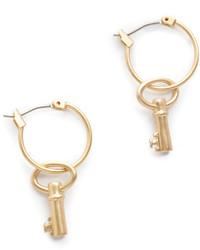 Tory Burch Key Earrings
