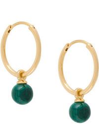 Astley Clarke Vera Drop Hoop Earrings