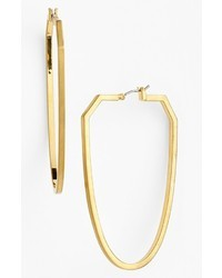 Vince Camuto Ethereal Statet Oblong Hoop Earrings