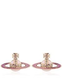 Vivienne Westwood Small Neo Bas Relief Stud Earrings