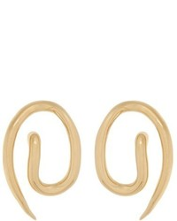 Charlotte Chesnais Whirl Gold Plated Earrings