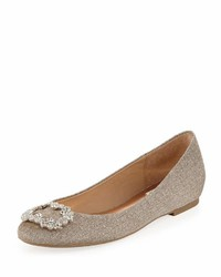 Badgley Mischka North Embellished Ballerina Flat