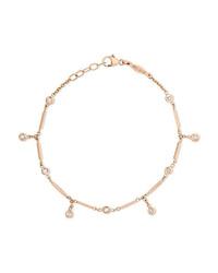 Jacquie Aiche 14 Karat Gold Diamond Bracelet