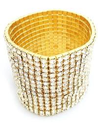 Bling Bling Sisters Gold Rhinestone Bracelet