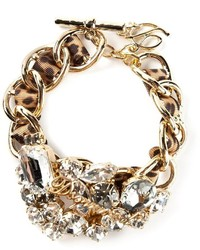 Dsquared2 Embellished Chain Bracelet
