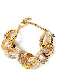 Giuseppe Zanotti Design Crystal Embellished Bracelet