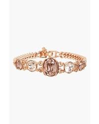 Givenchy Crystal Curb Link Bracelet