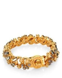 Marc by Marc Jacobs Katie Stone Embellished Turnlock Bracelet